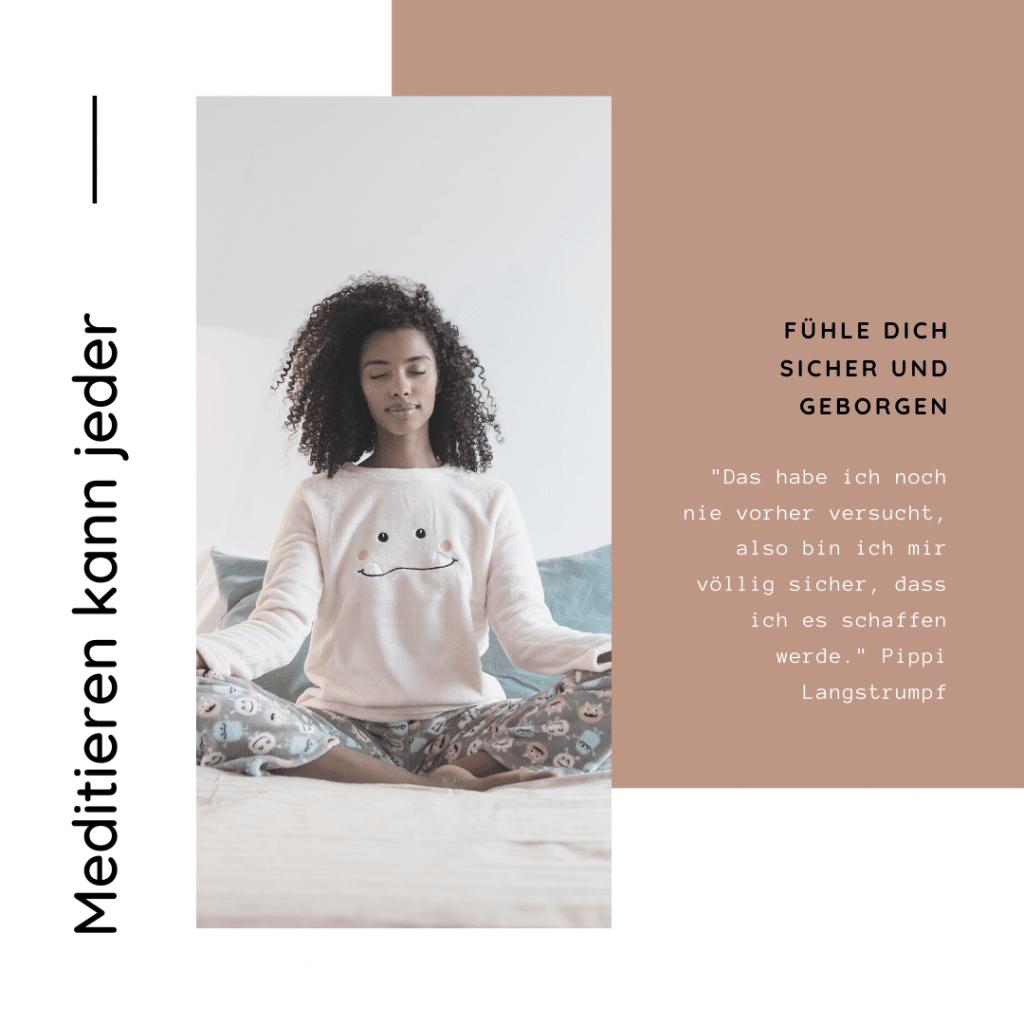 Meditieren kann jeder